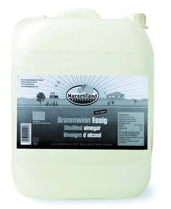 Marschland Bio-Branntweinessig 12% 10 ltr. Kanister MARSCHLAND 10l