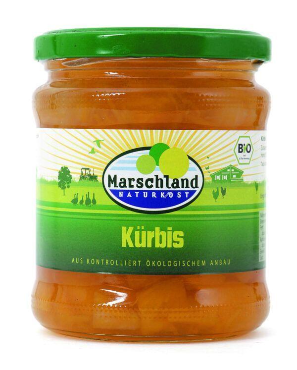 Marschland  Bio-Kürbis 370 ml Gl. MARSCHLAND 6x330g