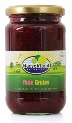 Marschland  Bio-Rote Grütze 370 ml Gl. MARSCHLAND 370g