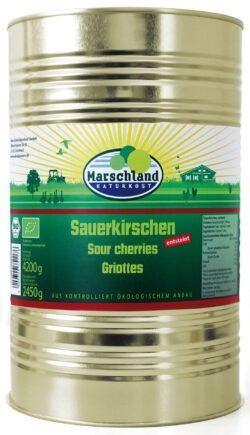 Marschland  Bio-Sauerkirschen 4.250 ml Ds. MARSCHLAND 4250g