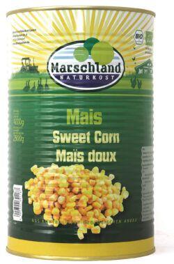 Marschland Bio-Zuckermais 4.250 ml Ds. MARSCHLAND 4000g