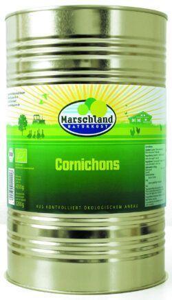 Marschland Bioland Bio-Cornichons 4.250 ml Ds. MARSCHLAND 4200g