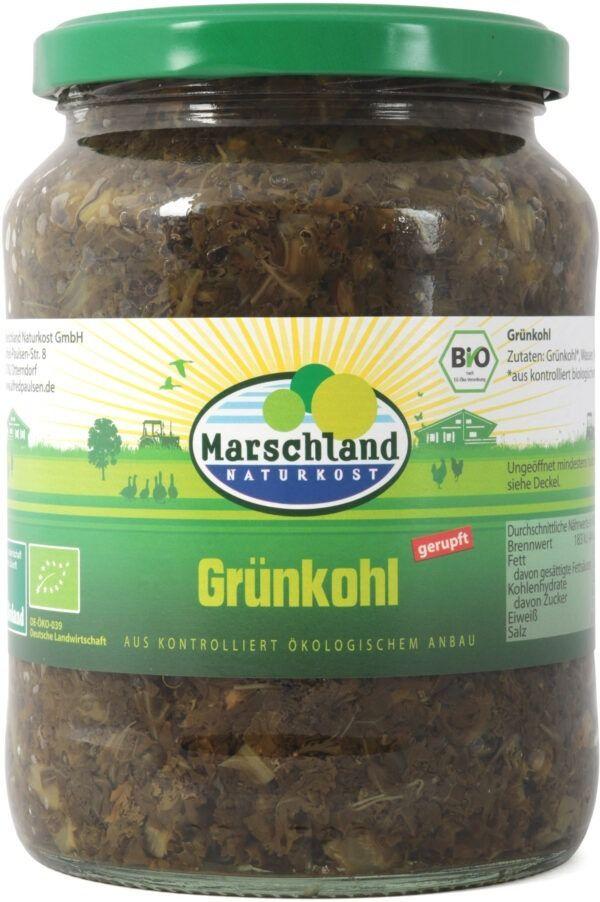 Marschland  Bioland Bio-Grünkohl 720 ml Gl. MARSCHLAND 12x660g