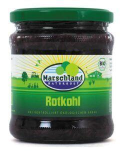 Marschland  Bioland Bio-Rotkohl 370 ml Gl. MARSCHLAND 6x350g