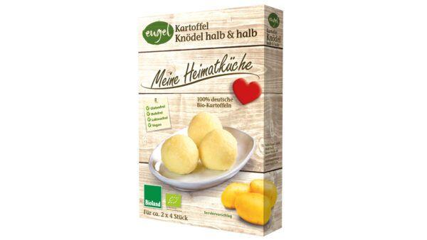 Meine Heimatküche Bio Kartoffelknödel halb & halb - Trockenmischung zur Zubereitung von Kartoffelknödeln halb & halb 11x230g
