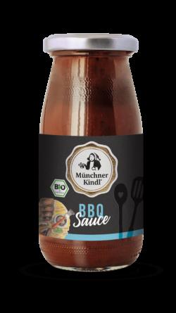 Münchner Kindl Senf Feinkost Sauce BBQ Bio Münchner Kindl 6x250ml
