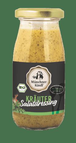 Münchner Kindl Senf Kräuter Salatdressing Bio Münchner Kindl 250ml 6x247g