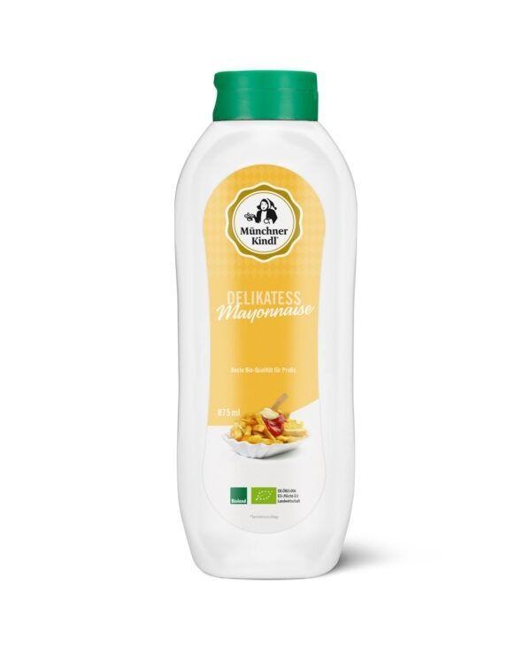 Münchner Kindl Senf Mayonnaise Delikatess Bio Squeezeflasche 8x875ml