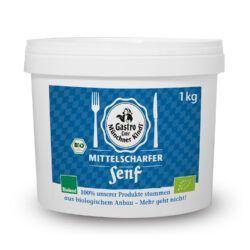 Münchner Kindl Senf Mittelscharfer Senf 1kg