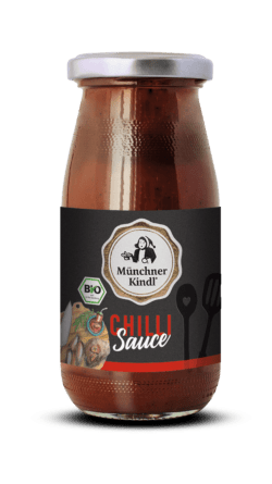 Münchner Kindl Senf Münchner Kindl Feinkost Sauce Chili Bio 6x250ml