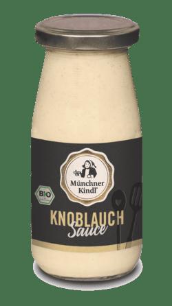 Münchner Kindl Senf weiße Knoblauch Sauce Bio Münchner Kindl 6x250ml