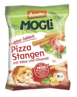 Mogli Knabber Gebäck - Pizza Stangen mit Käse und Olivenöl 12x75g