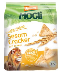 Mogli Knabber Gebäck Sesam Cracker 6x80g