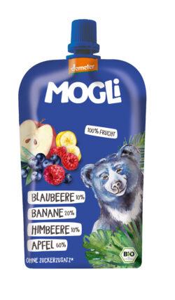 Mogli Quetschi Blaubeere-Himbeere 6x120g