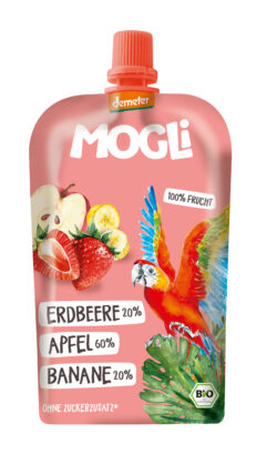 Mogli Quetschi Erdbeere 6x120g