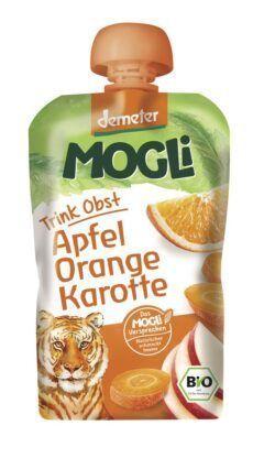 Mogli Trink Obst Apfel-Orange-Karotte 6x100g