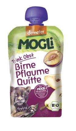 Mogli Trink Obst Pflaume, Birne, Quitte 6x100g