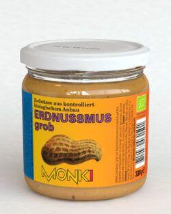 Monki Erdnussmus grob 6x330g