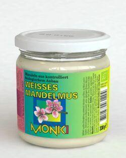 Monki Weißes Mandelmus 6x330g