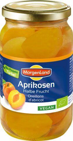 MorgenLand Aprikosen halbe Frucht 350g
