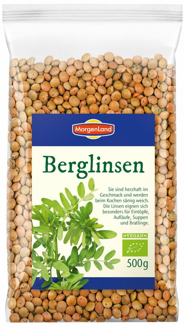 MorgenLand Berglinsen 6x500g