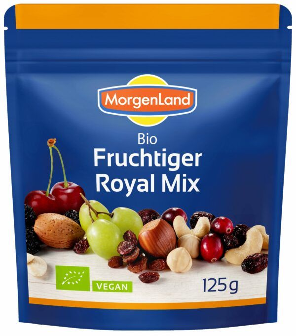 MorgenLand Fruchtiger Royal Mix 9x125g