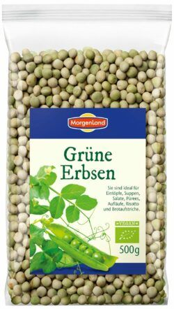 MorgenLand Grüne Erbsen 6x500g