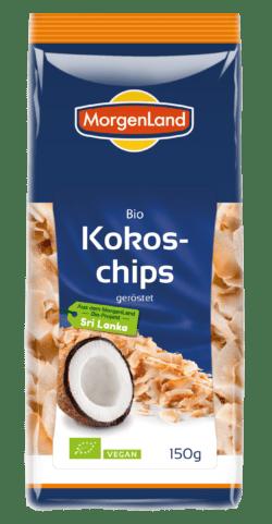 MorgenLand Kokoschips geröstet 6x150g