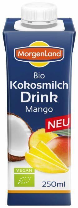 MorgenLand Kokosmilch Drink Mango 12x250ml
