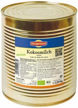 MorgenLand Kokosmilch extra - 60% Kokosnuss 2,95kg