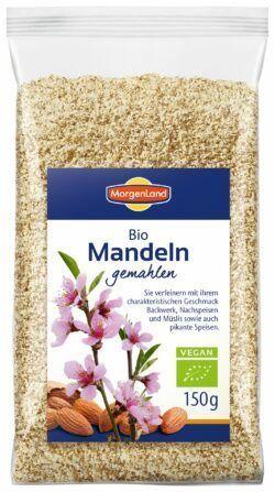 MorgenLand Mandeln gemahlen 8x150g