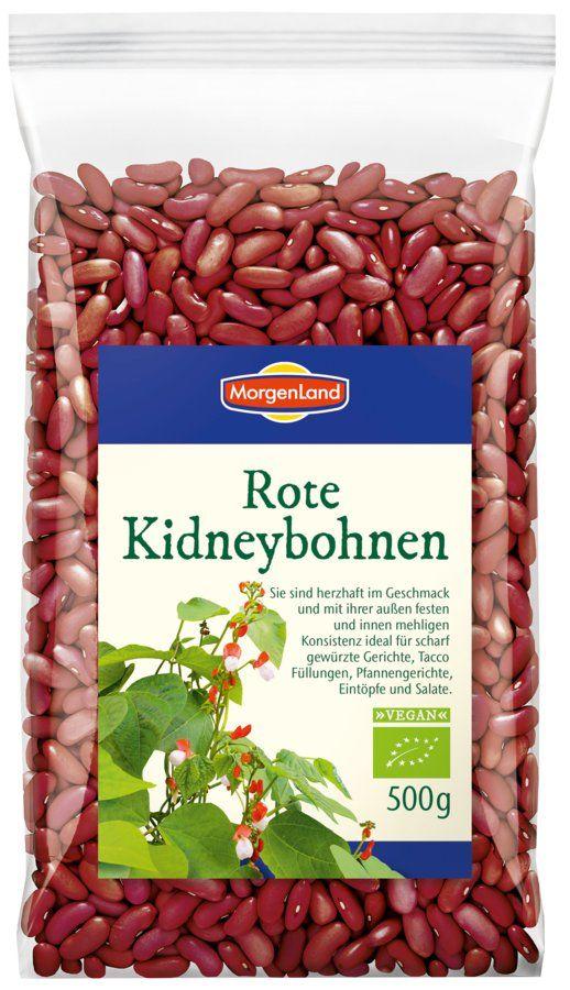 MorgenLand Rote Kidneybohnen 6x500g