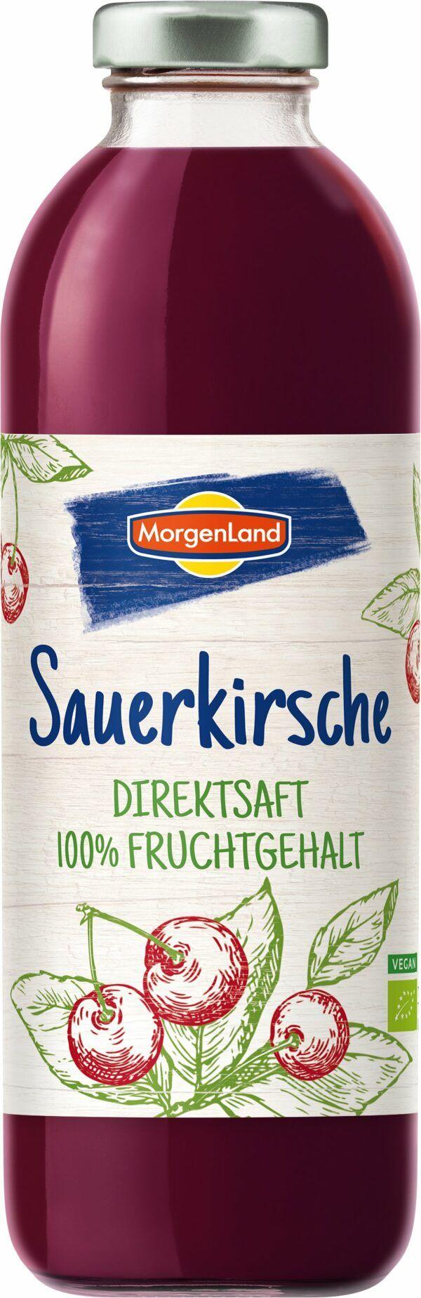 MorgenLand Sauerkirsche-Direktsaft 6x0,7l
