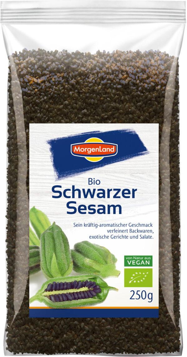 MorgenLand Schwarzer Sesam 8x250g