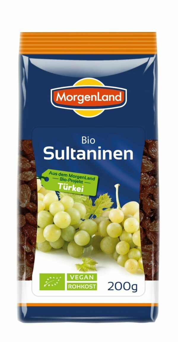 MorgenLand Sultaninen 8x200g