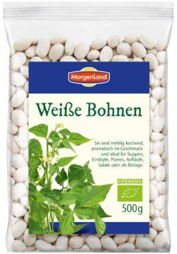 MorgenLand Weiße Bohnen 6x500g