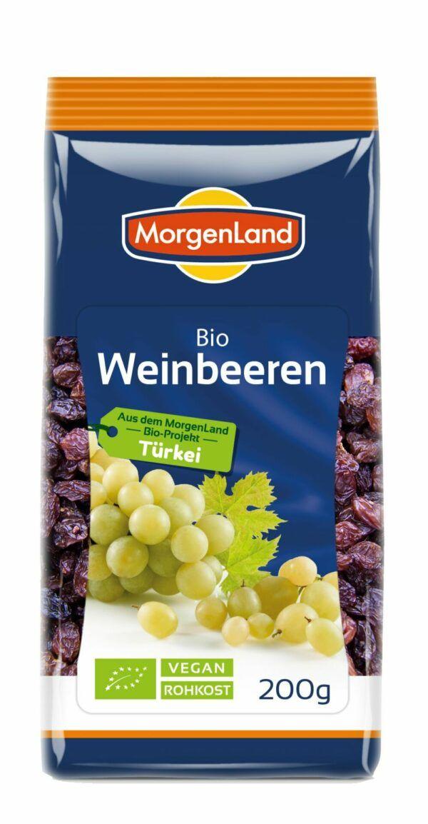 MorgenLand Weinbeeren 8x200g