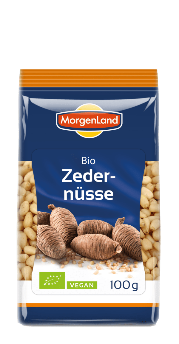 MorgenLand Zedernüsse 8x100g