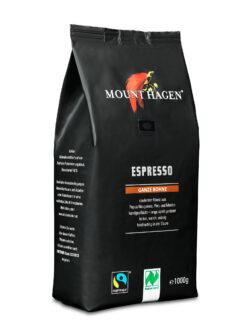 Mount Hagen Espresso ganze Bohne 6x1kg