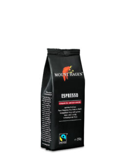 Mount Hagen Espresso, gemahlen, entkoffeiniert 6x250g