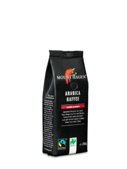 Mount Hagen Fairtrade Arabica Röstkaffee, ganze Bohne 6x250g