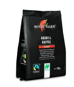 Mount Hagen Kaffee Pads (18x7g) 10x130g
