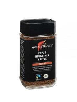 Mount Hagen Papua Neuguinea Kaffee, Instant 6x100g