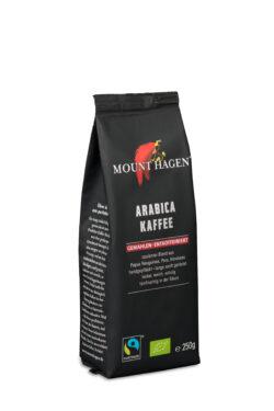 Mount Hagen Röstkaffee gemahlen, entkoffeiniert 6x250g