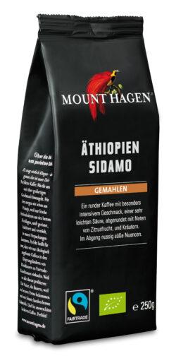 Mount Hagen Röstkaffee Äthiopien Sidamo gemahlen 6x250g