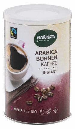 NATURATA Arabica Bohnenkaffee, instant 10x100g