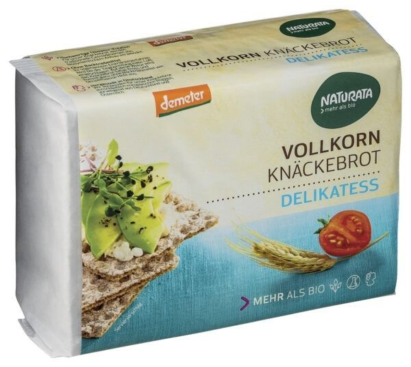 NATURATA Delikatess Vollkorn-Knäckebrot 250g