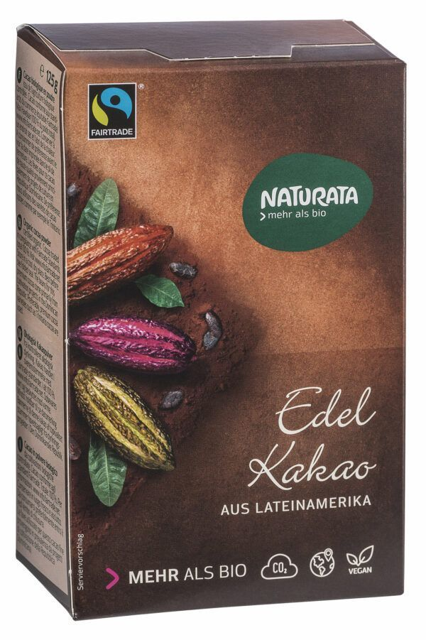 NATURATA Edelkakao aus Lateinamerika 10x125g