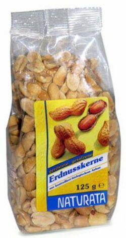NATURATA Erdnusskerne, geröstet und gesalzen 8x125g