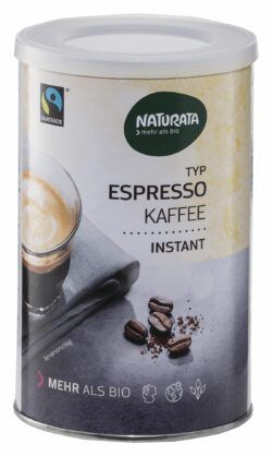 NATURATA Espresso Bohnenkaffee, instant, Dose 10x100g